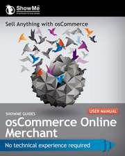 Showme Guides Oscommerce Online Merchant User Manual