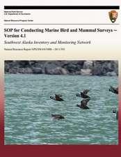 Sop for Conducting Marine Bird and Mammal Surveys - Version 4.1