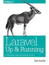 Laravel – Up and Running