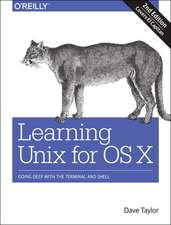 Learning Unix for OS X, 2e
