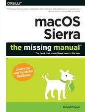 macOS Sierra - The Missing Manual