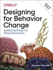 Designing for Behavior Change, 2e