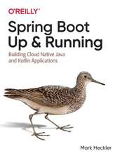 Spring Boot – Up and Running