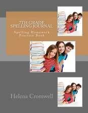 7th Grade Spelling Journal