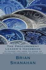 The Procurement Leader's Handbook