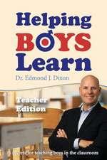 Helping Boys Learn