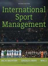 MacIntosh, E: International Sport Management