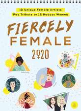 FIERCELY FEMALE WALL POSTER CALENDAR 202
