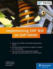 Implementing SAP BW on SAP HANA