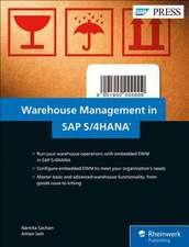 Warehouse Management in SAP S/4HANA