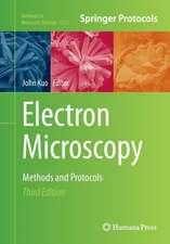 Electron Microscopy: Methods and Protocols