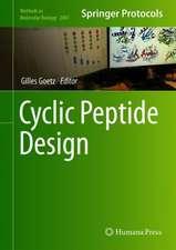 Cyclic Peptide Design