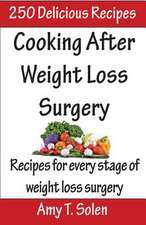 Cooking After Weight Loss Surgery