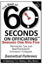 The Best of 60 Seconds on Officiating