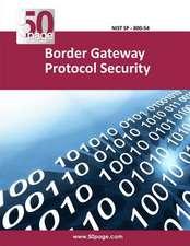 Border Gateway Protocol Security