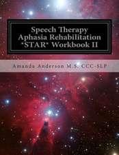 Speech Therapy Aphasia Rehabilitation *Star* Workbook II