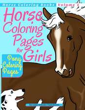 Horse Coloring Pages for Girls - Pony Coloring Pages