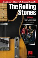 The Rolling Stones - Guitar Chord Songbook:  Solo Piano