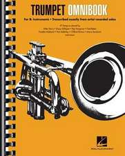 Trumpet Omnibook: For B-Flat Instruments Transcribed Exactly from Artist Recorded Solos