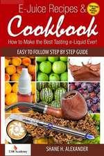 E-Juice Recipes & Cookbook