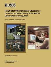 The Effect of Offering Distance Education on Enrollment in Onsite Training at the National Conservation Training Center