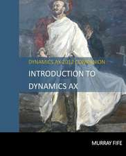 Introduction to Dynamics Ax