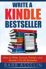 Write a Kindle Bestseller