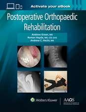Postoperative Orthopaedic Rehabilitation: Print + Ebook with Multimedia