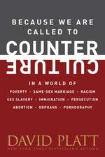 Because We Are Called to Counter Culture:  In a World of Poverty, Same-Sex Marriage, Racism, Sex Slavery, Immigration, Persecution, Abortion, Orphans,