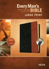 Every Man's Bible NIV, Large Print, Tutone