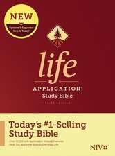 NIV Life Application Study Bible, Third Edition (Hardcover)