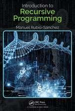 Introduction to Recursive Programming