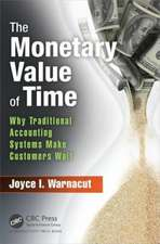 The Monetary Value of Time