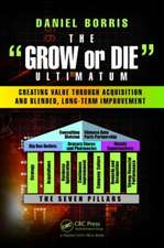 """The """"Grow or Die"""" Ultimatum:  Creating Value Through Acquisition and Blended, Long-Term Improvement Formulas"""