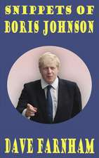 Snippets of Boris Johnson