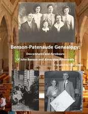 Benson/Patenaude Genealogy