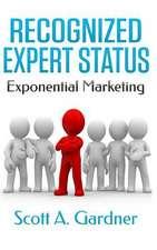 Recognized Expert Status