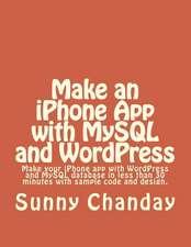 Make an iPhone App with MySQL and Wordpress