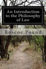 An Introduction to the Philosophy of Law