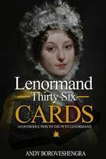 Lenormand Thirty Six Cards
