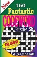New 160 Fantastic Codeword Puzzles