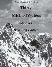 Thirty Mellow-Dious Studies, Vol. 1-Bass Clef Edition