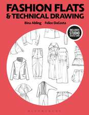 Fashion Flats and Technical Drawing: Bundle Book + Studio Access Card