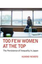 Too Few Women at the Top: The Persistence of Inequality in Japan