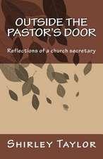 Outside the Pastor's Door