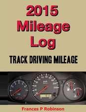 2015 Mileage Log