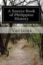 A Source Book of Philippine History