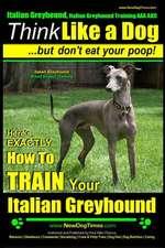 Italian Greyhound, Italian Greyhound Training AAA Akc
