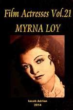 Film Actresses Vol.21 Myrna Loy