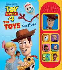 Toy Story 4 Little Sound Book